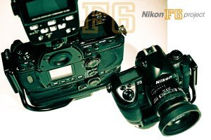 The last of its kind: the Nikon F6 35mm film camera.