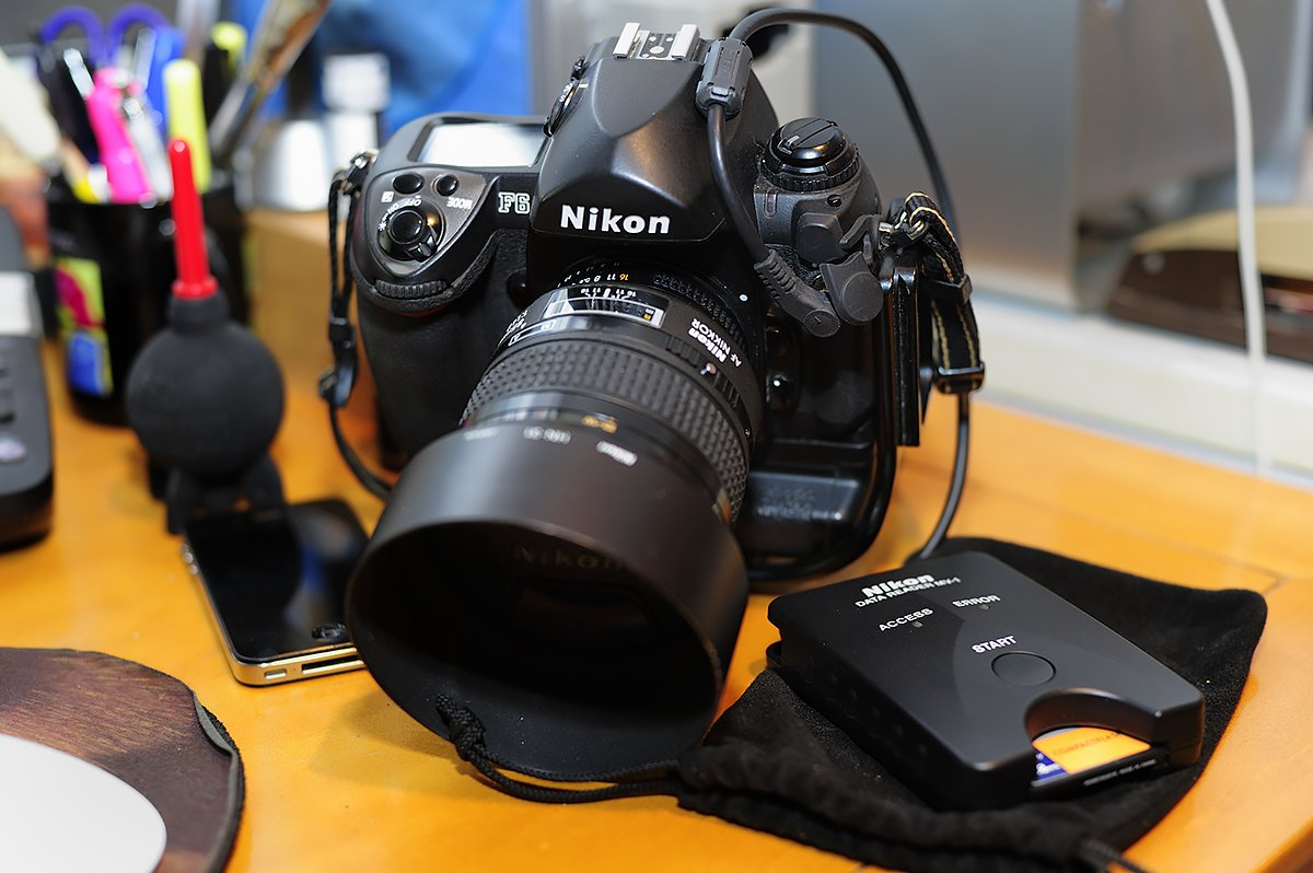 Using the Nikon MV-1 with the Nikon F6