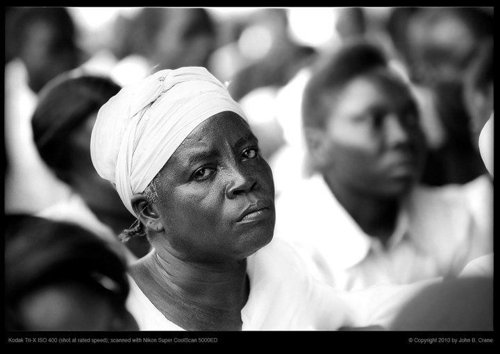Port au Prince, Haiti worship service