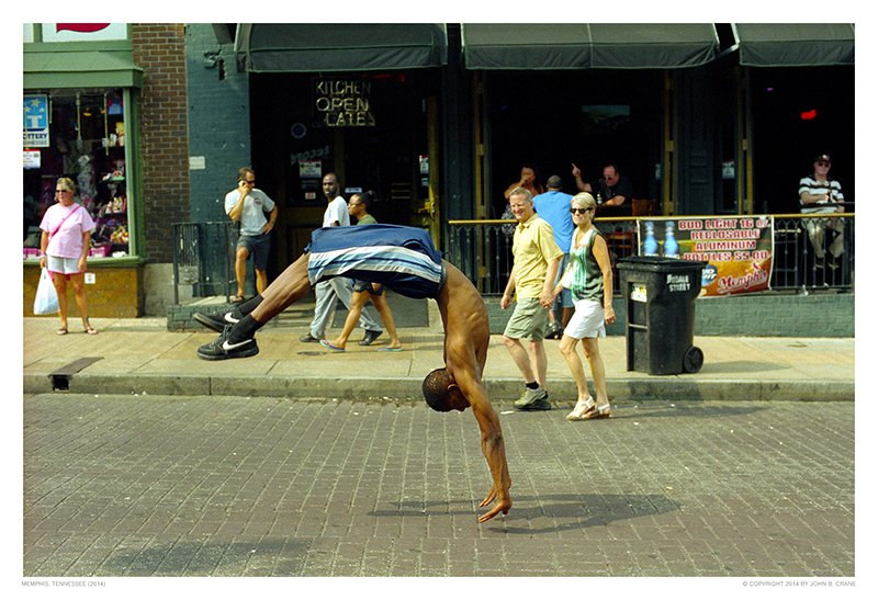 Street Photography in Memphis, Tennesse