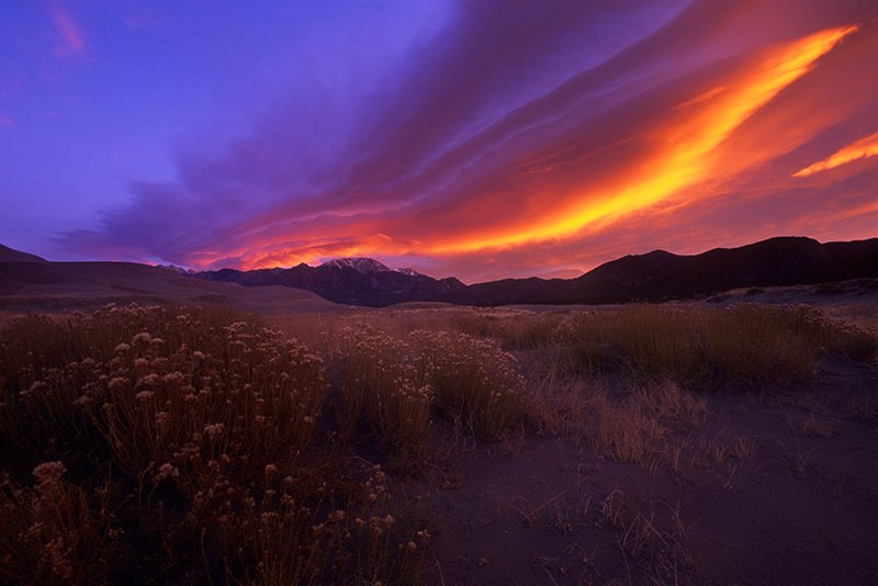 Sunrise, Great Sand Dunes National Park, Colorado (2009)