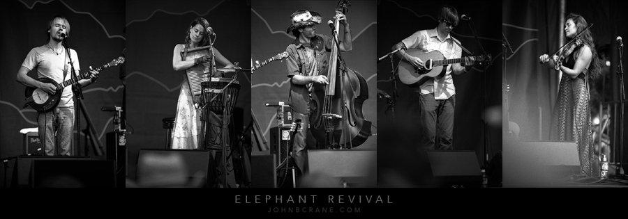 Elephant Revival, New West Fest, Fort Collins, Colorado (2014)