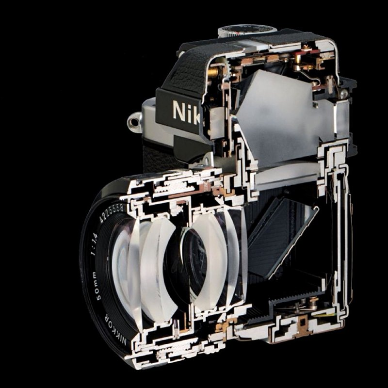 Nikon F2 Cutaway