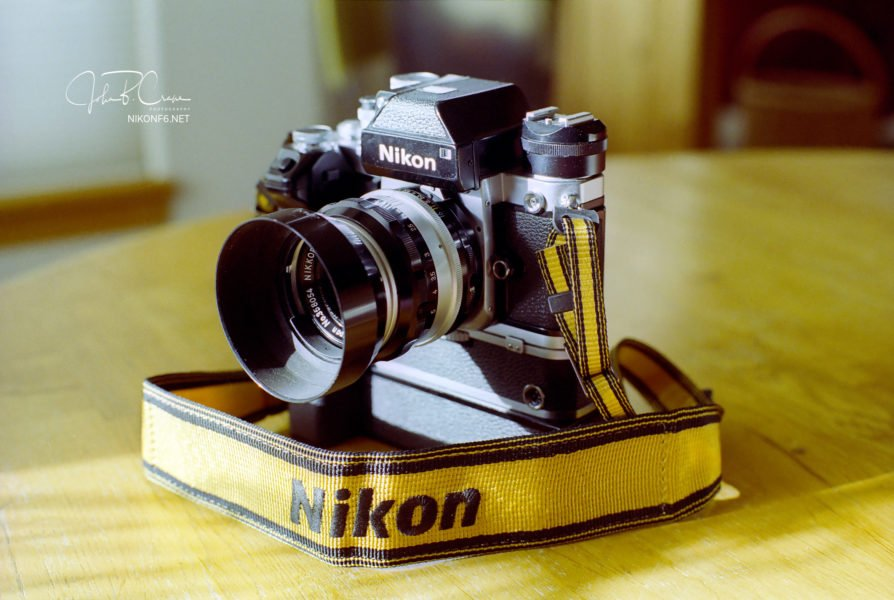 Nikon F2: Perhaps the Best 35mm camera ever made.