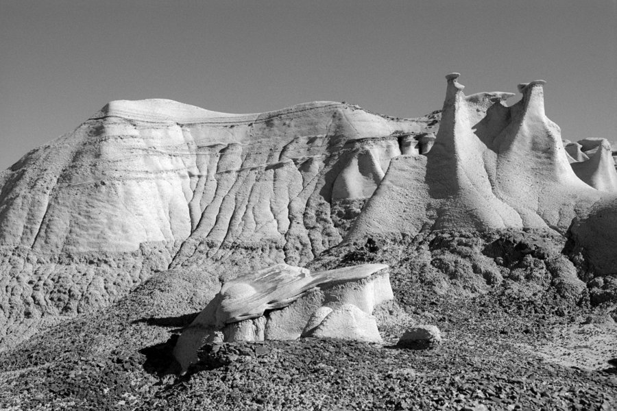Bisti/De-Na-Zin Wilderness, Hunter Wash, New Mexico (2016)