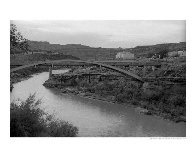 Old Bridge and San Juan River, Mexican Hat, Utah (2016)