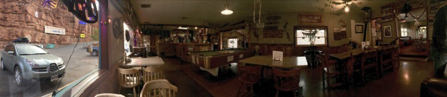 Old Bridge Bar and Grille, Mexican Hat, Utah