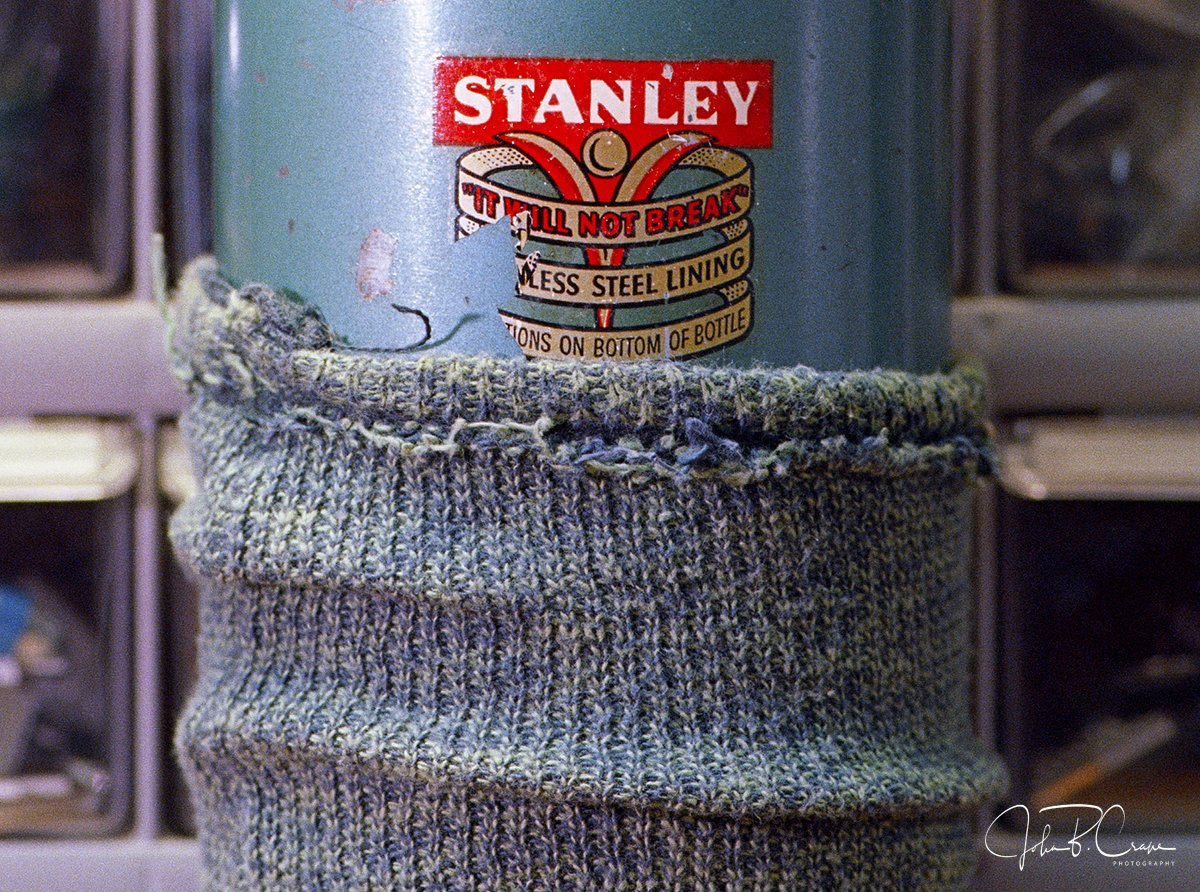 STANLEY Thermos Close Up