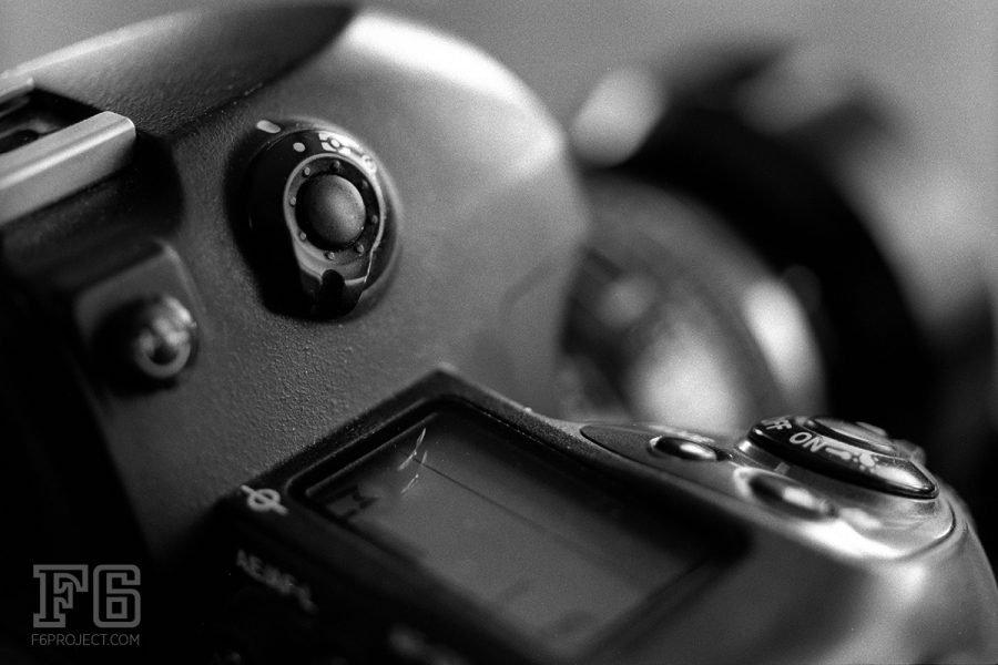 Nikon F6 35mm film camera.