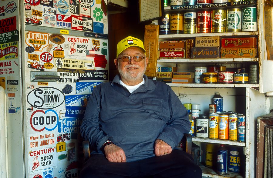 Gary Hevalow, Proprietor-Preston's Station, Belle Plaine, Iowa