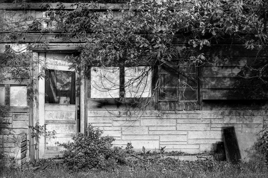 Abandoned Boarding House, Lincoln Highway, Scranton, Iowa