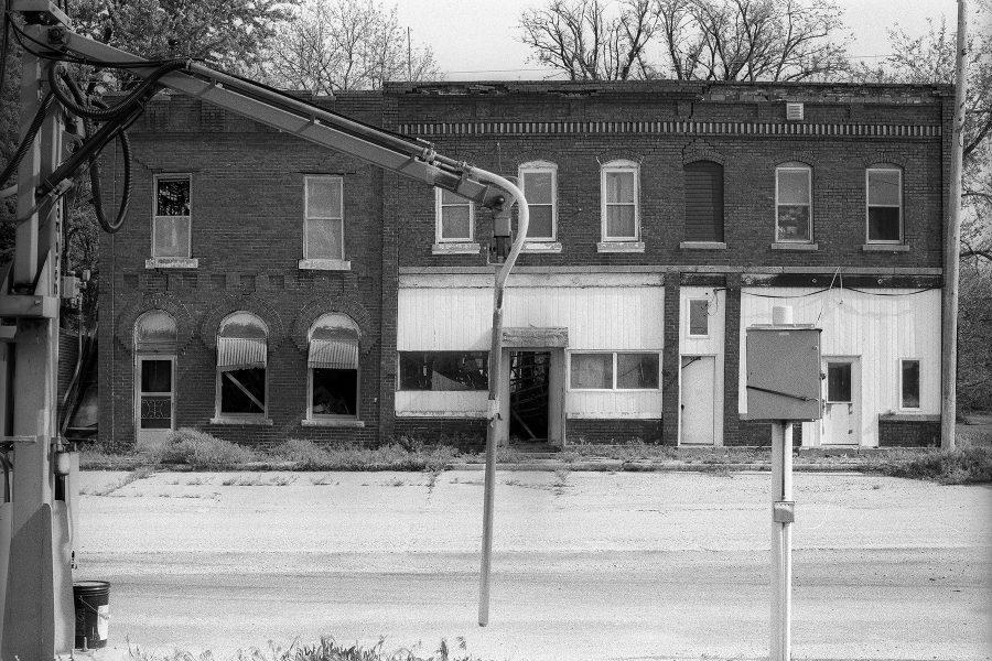 Abandoned Hotel, Beaver, Iowa